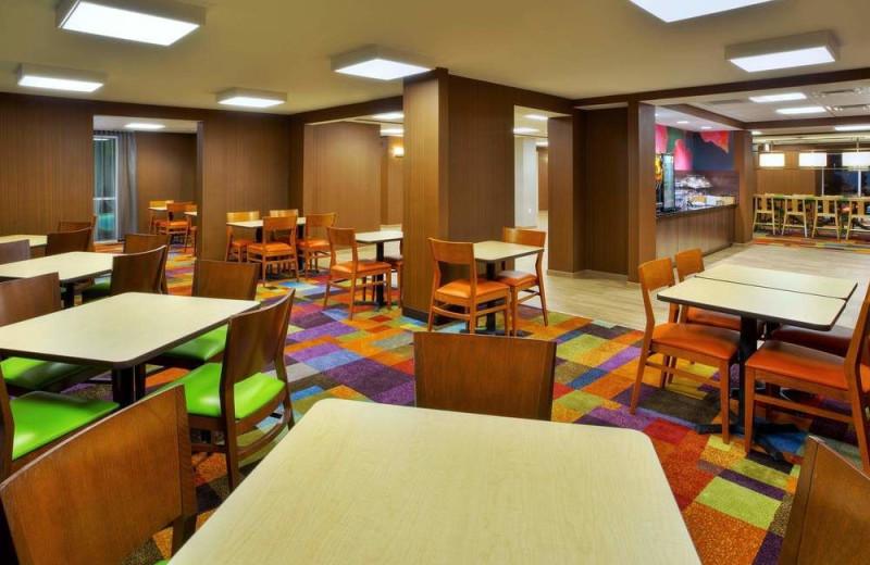 Dining at The Fairfield Inn by Marriott Owensboro.