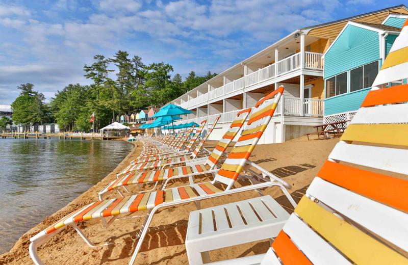 Beach at Naswa Resort.