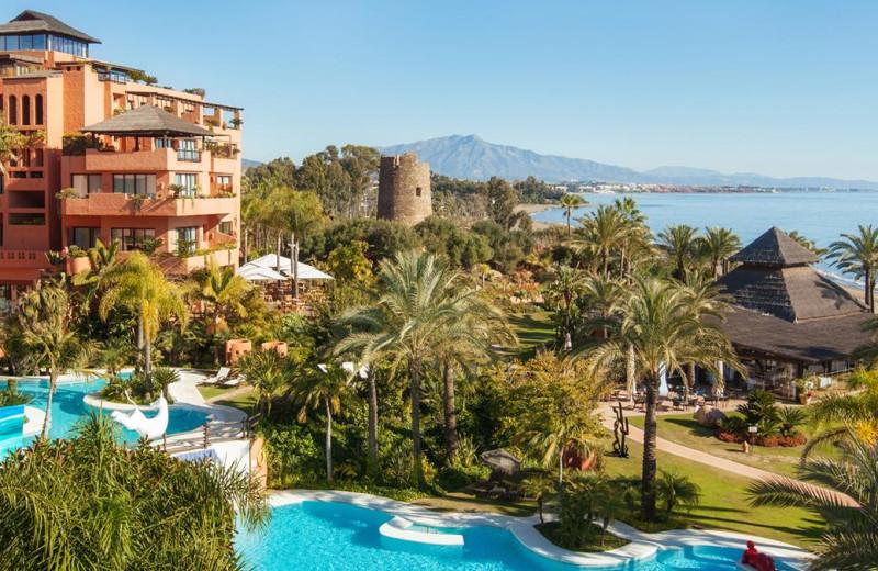 Exterior view of Kempinski Resort Hotel Estepona.