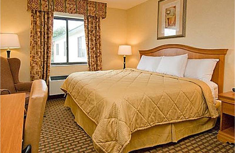 King bedroom at Comfort Inn Lakes Region.