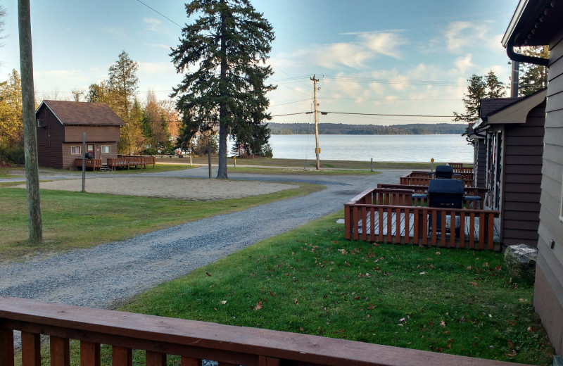 Lake view at Sandy Lane Resort.