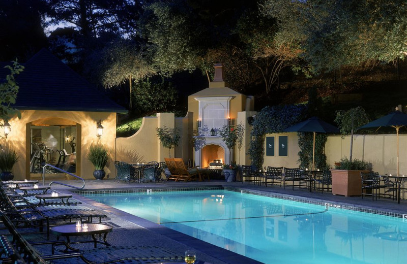 Outdoor pool at Lafayette Park Hotel & Spa.