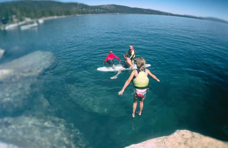 Lake at Lake Tahoe Accommodations.