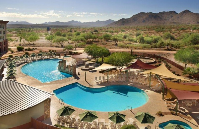Outdoor pool at We-Ko-Pa Resort and Conference Center.