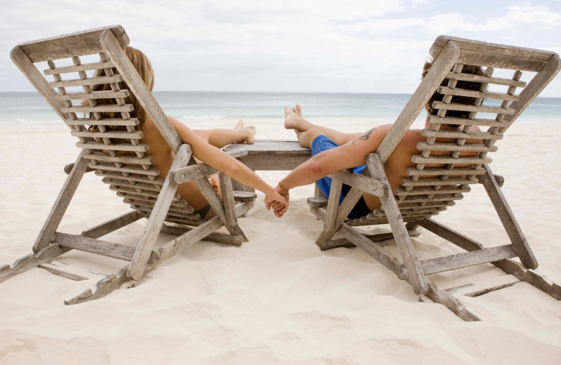 Relaxing on the beach at Myrtle Beach Vacation Rentals.