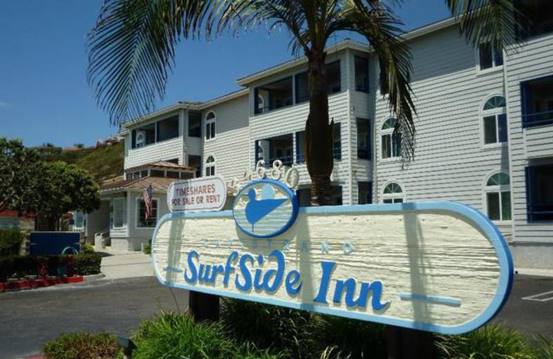 Guest room at Capistrano Surfside Inn.