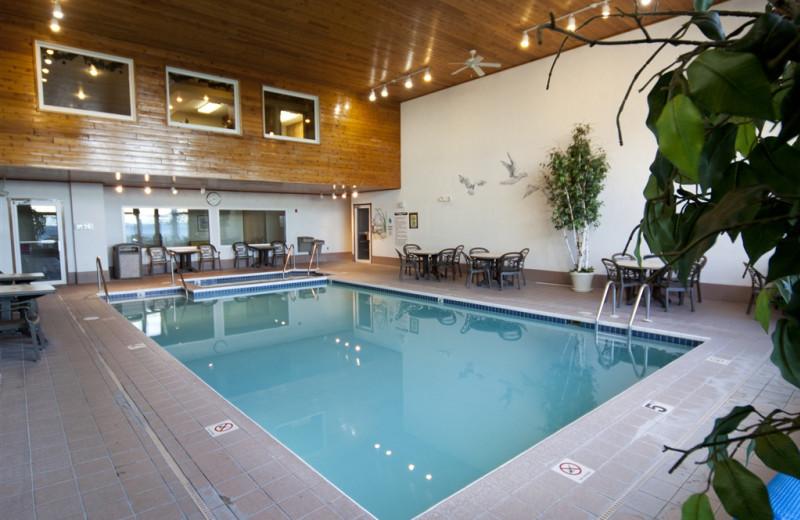 Indoor pool at Westwood Shores Waterfront Resort.