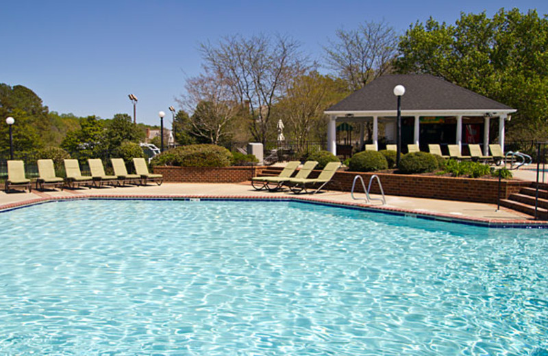 Outdoor Pool at The Historic Powhatan Resort