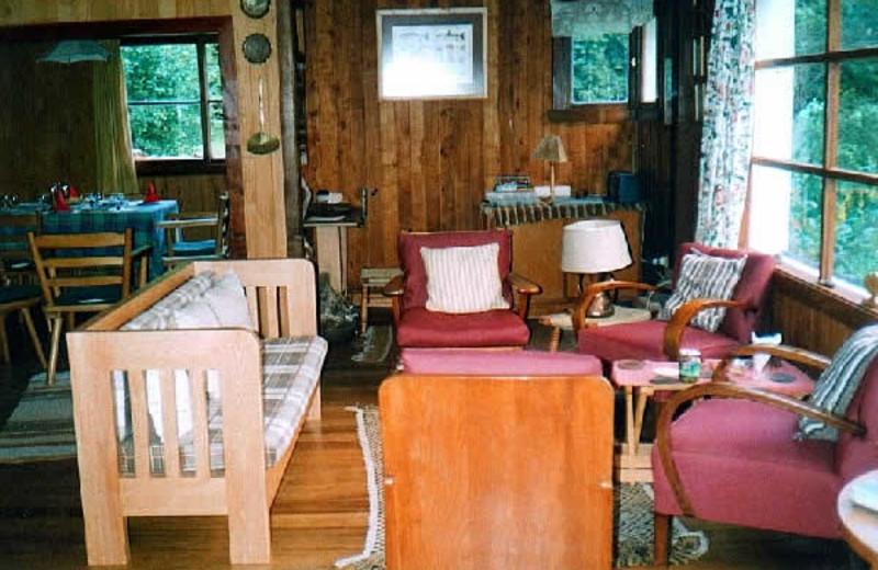 Interior at Cayutue Lodge.