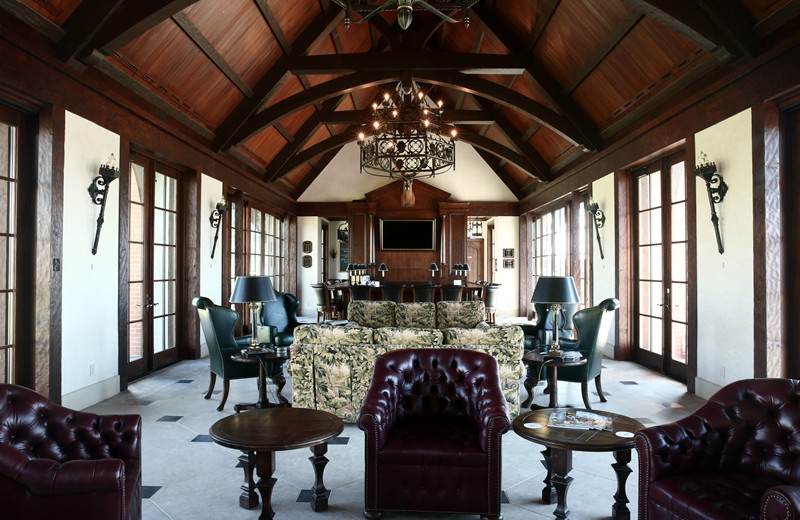 Lobby at Greystone Castle Sporting Club.