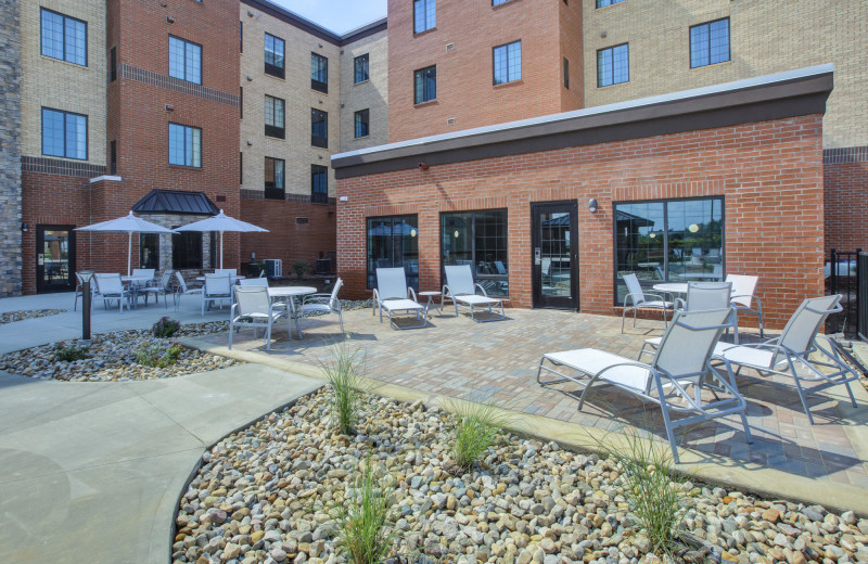 Patio at Staybridge Suites - Benton Harbor.