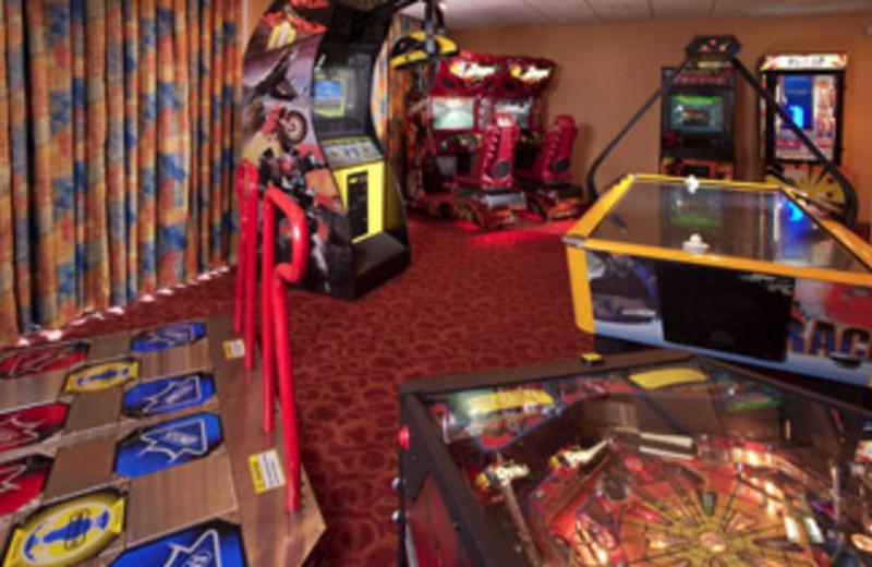 Arcade Area at Holiday Inn Main Gate East