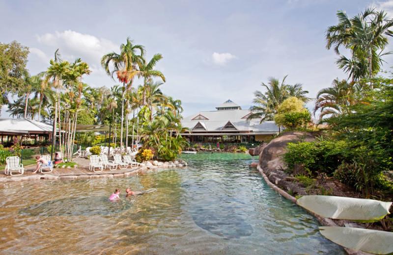 Outdoor pool at Rihga Colonial Club Resort Cairns.