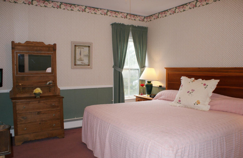 Guest room at Echo Lake Inn.