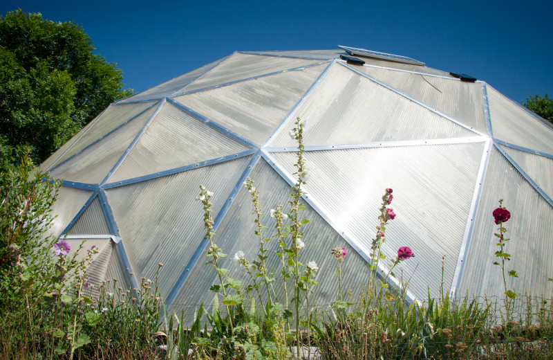 Dome at Joyful Journey Hot Springs Spa.