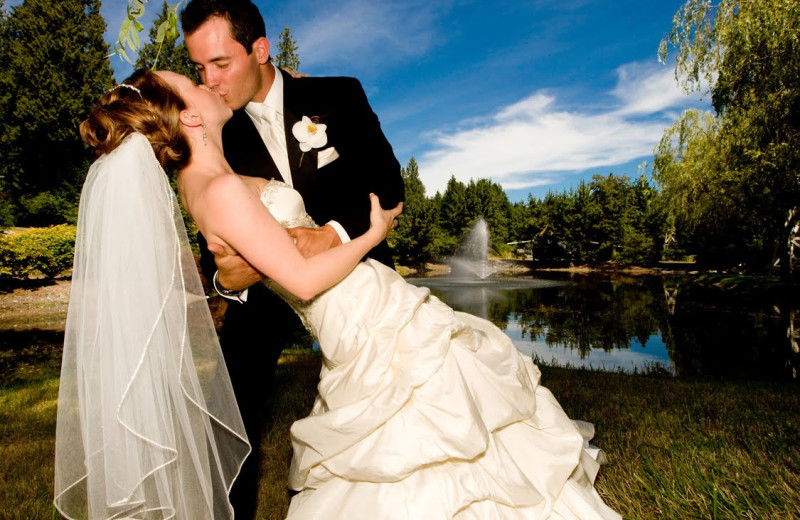 Wedding at Garland Lodge & Resort.
