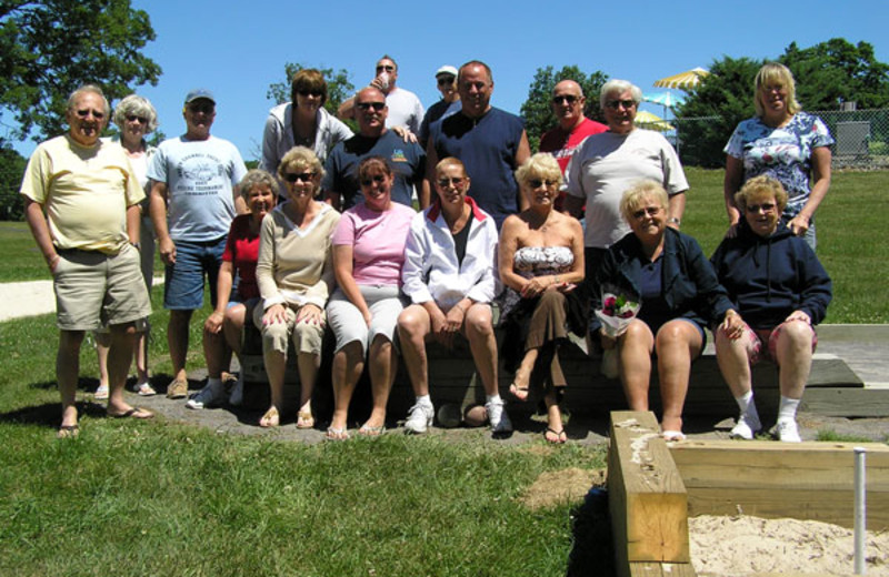 Family Reunion at Wolff's Maple Breeze Resort