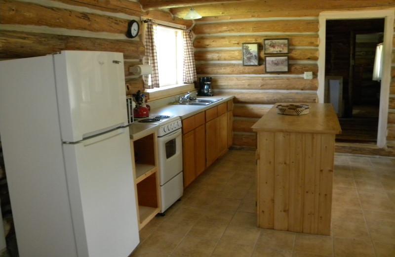 Kitchen in #10 House