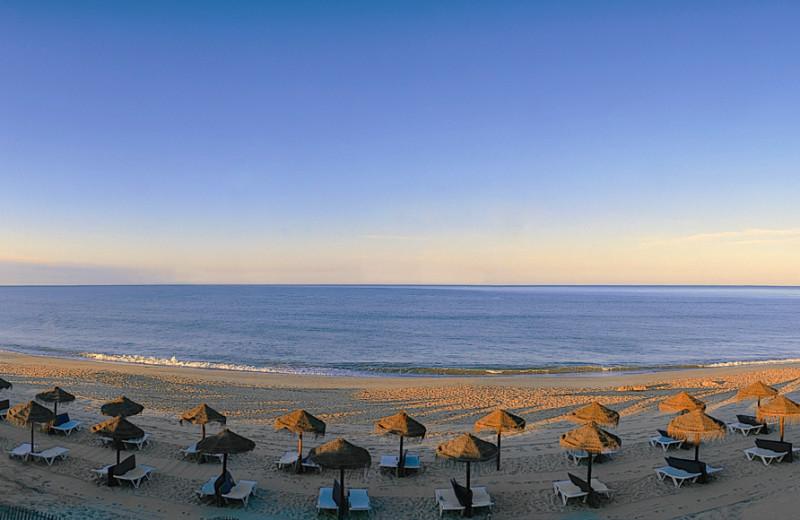 The beach at Hotel Quinta do Lago.