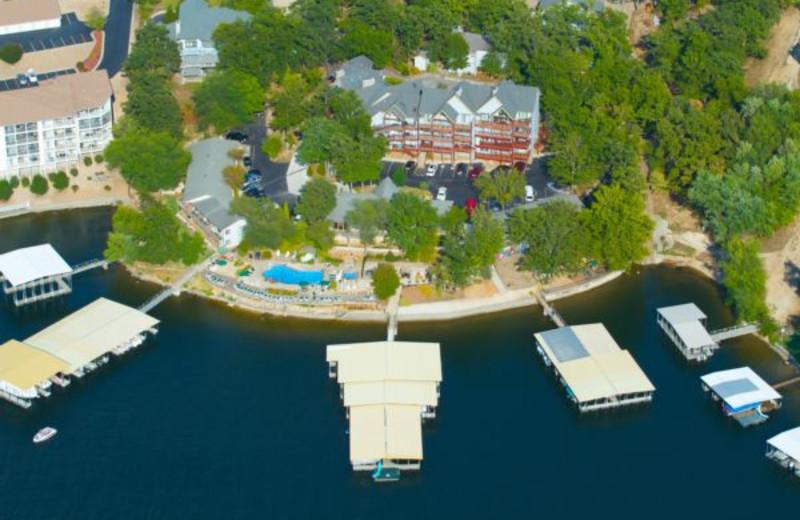 Aerial View of Summerset Inn Resort