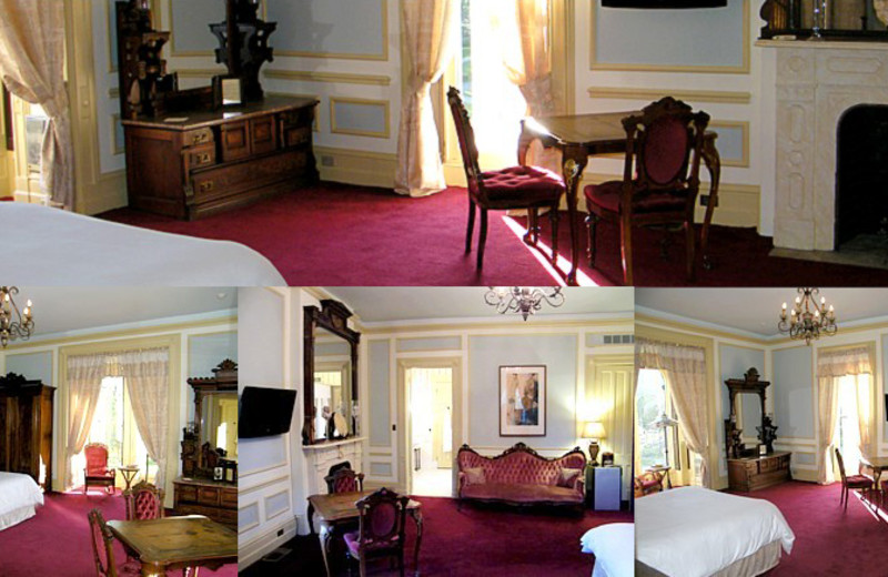 George Batcheller room at Batcheller Mansion Inn Bed and Breakfast.