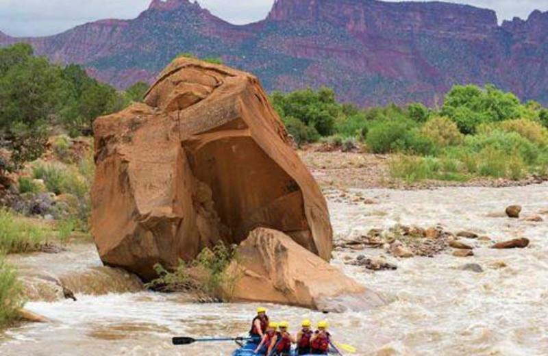 Rafting at Gateway Canyons Resort