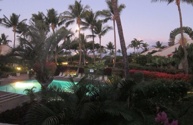 View from Maui Kamaole.
