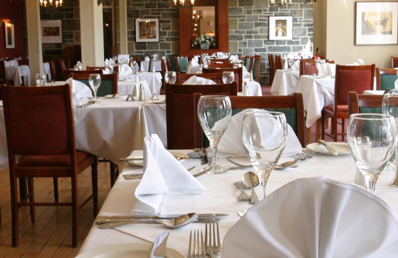 Dining at Craiglynn Hotel.