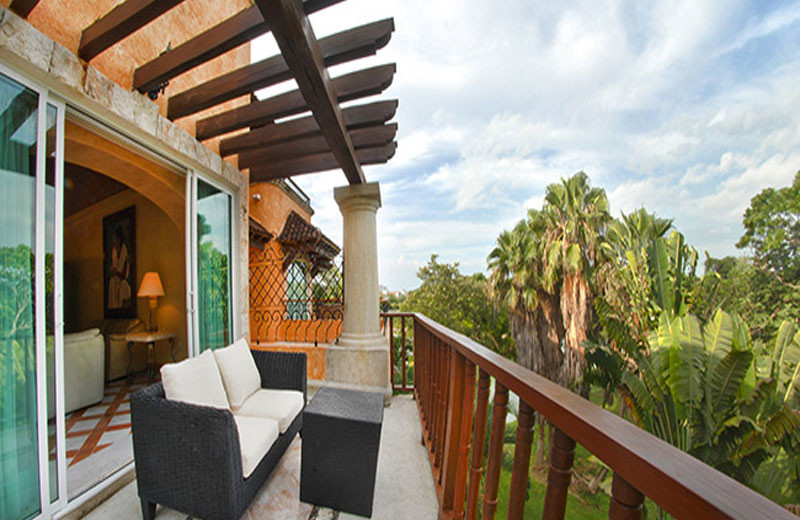 Balcony view at Hacienda Vista Real Villas & Spa.