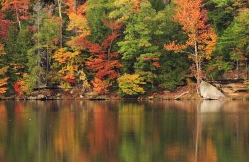 Roosevelt Lake in Shawnee State Park