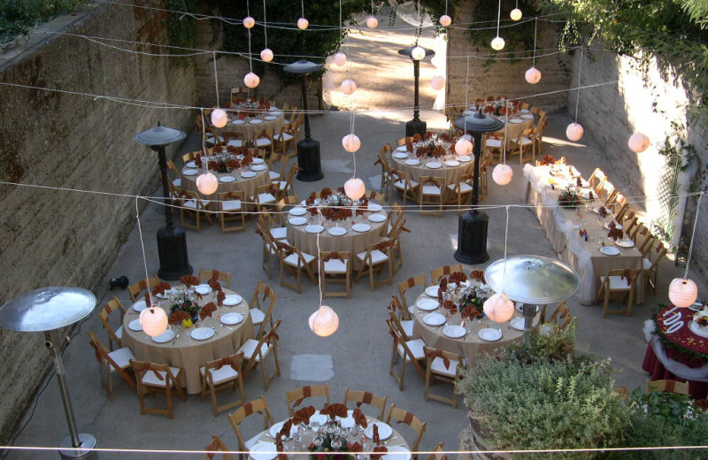 Wedding reception at Historic Sand Rock Farm B & B.