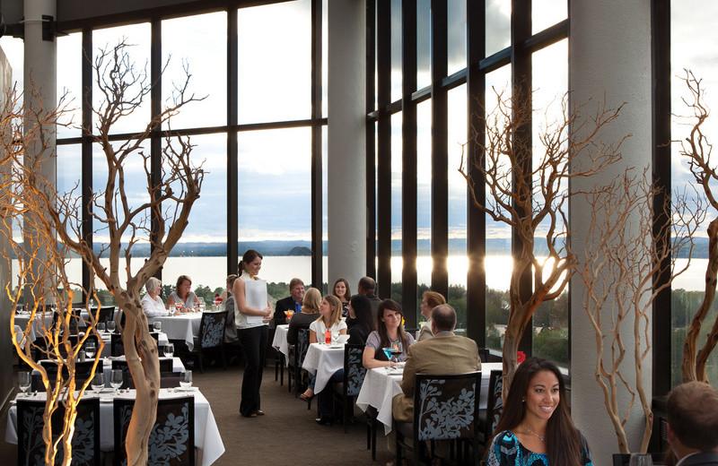 Aerie Restaurant at Grand Traverse Resort.
