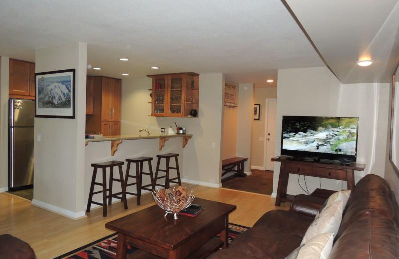 Rental interior at Seasons 4 Condominium Rentals.