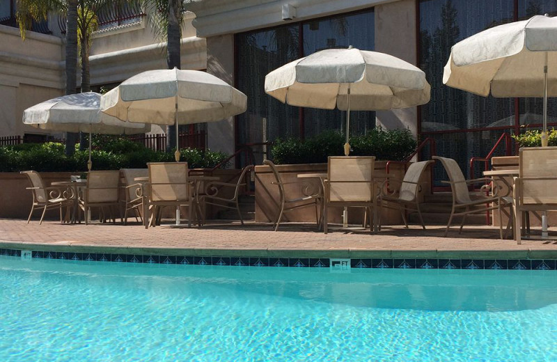 Outdoor pool at The Grand Hotel.