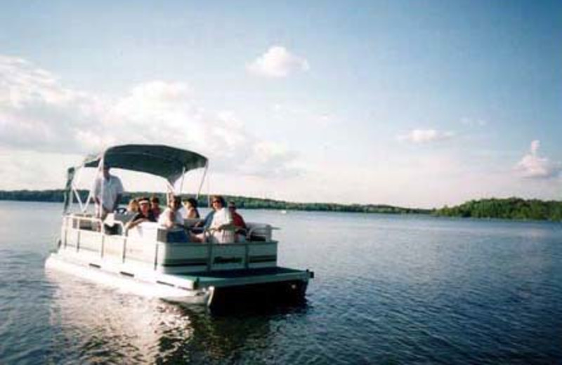 Pontoon Ride on the 3rd Crow Wing Lake