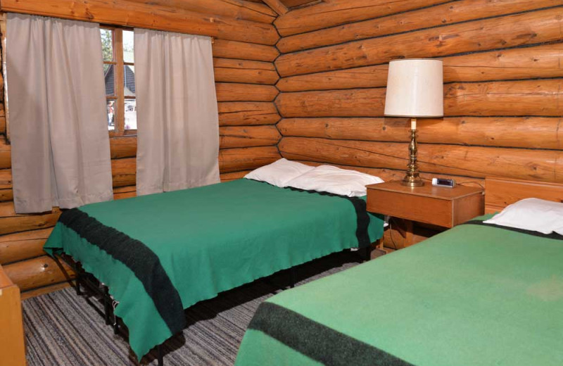 Guest room at Manotak Lodge.