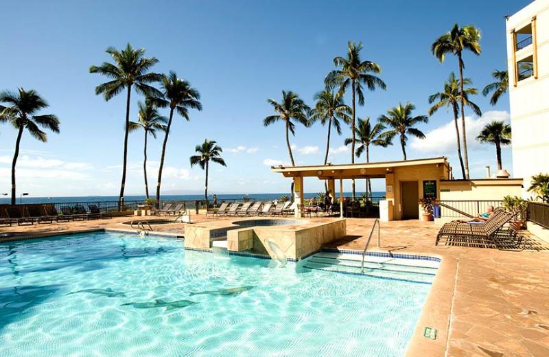 Outdoor pool at Sugar Beach Resort.
