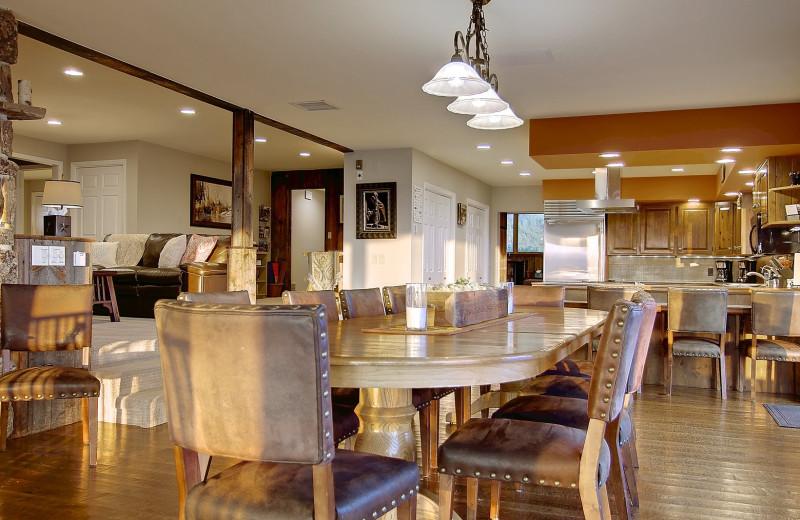 Guest kitchen at Bella Vista Estate.