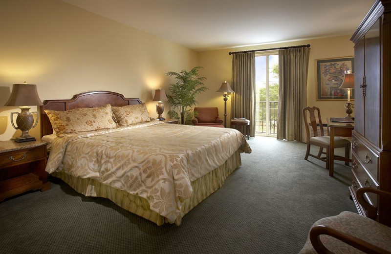 Guest room at Trianon Hotels and Trianon Properties, Inc.