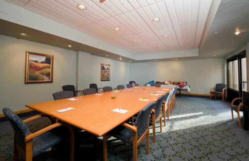 Meeting room at Glenwood Hot Springs.