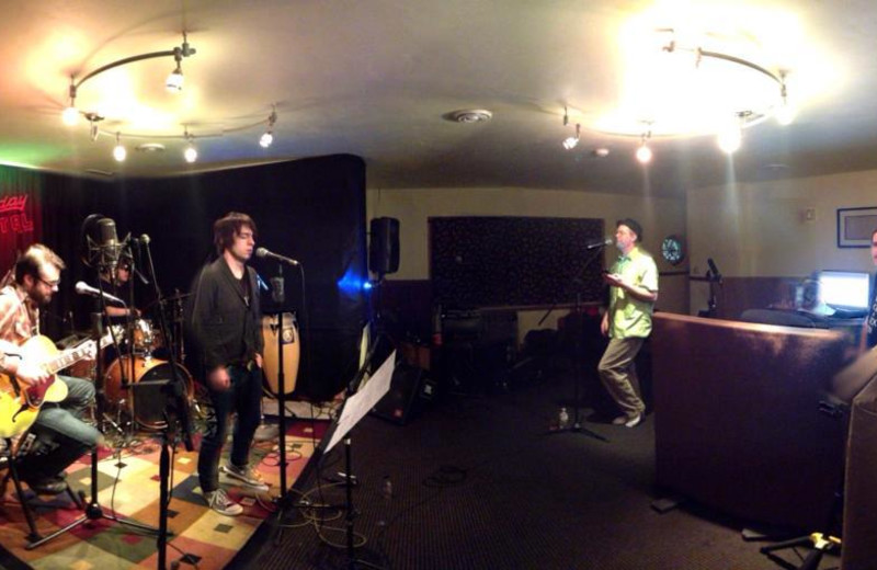 Recording at the Holiday Music Motel