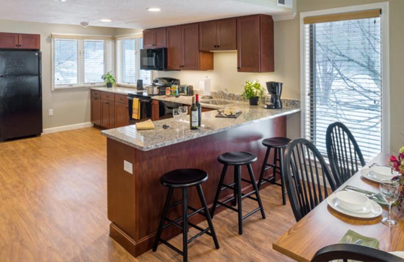 Guest kitchen at Summit Resort.