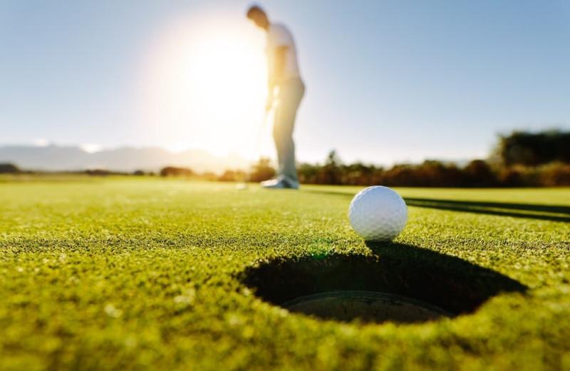 Golf near Balmoral Resort.