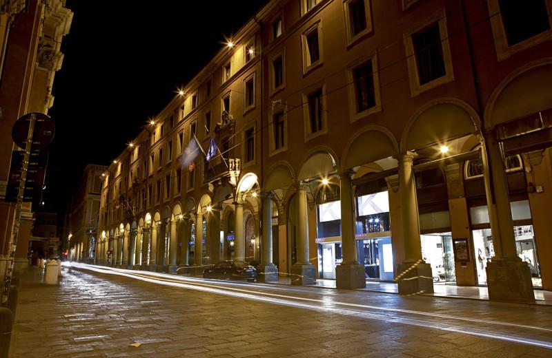Exterior view of Grand Hotel Baglioni.