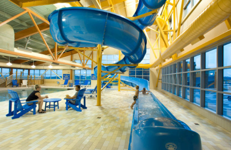 Indoor pool at Delta Beausejour.