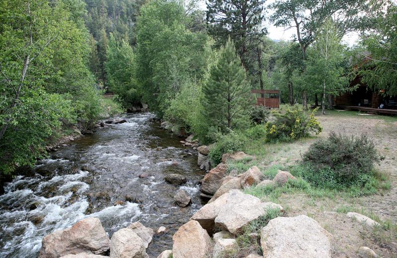 River view at Bear Creek Vacation Condos.