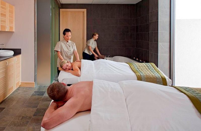 Spa massage at La Torretta Lake Resort & Spa.