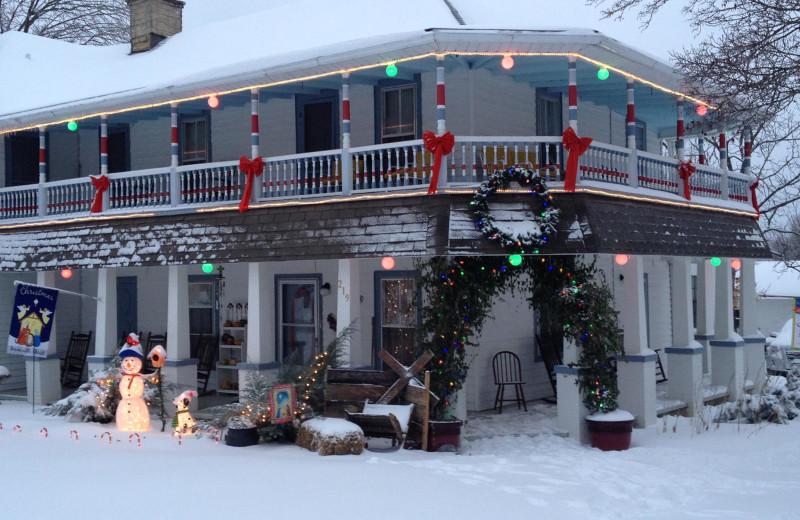 Winter at Ozark Country Inn.