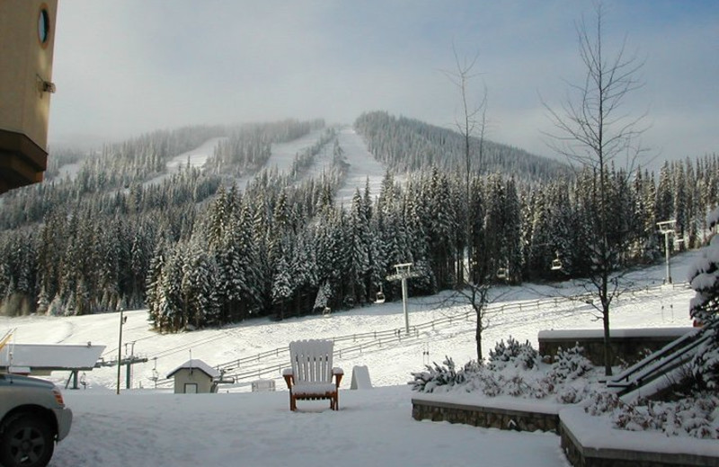 Winter time at Hearthstone Lodge.