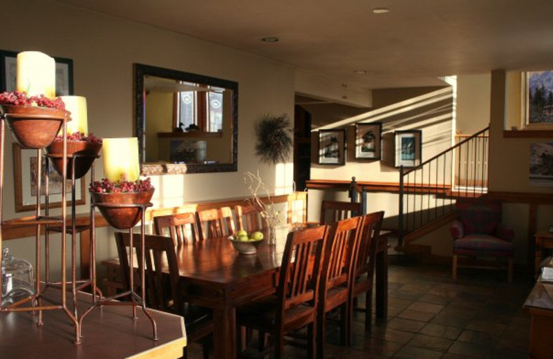 Interior view of Inn on the Creek
